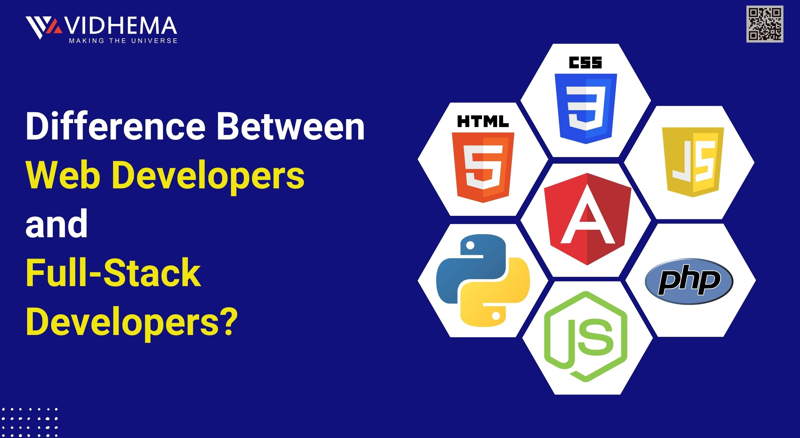 Difference between Web developers and full-stack developers?- Detailed Guide