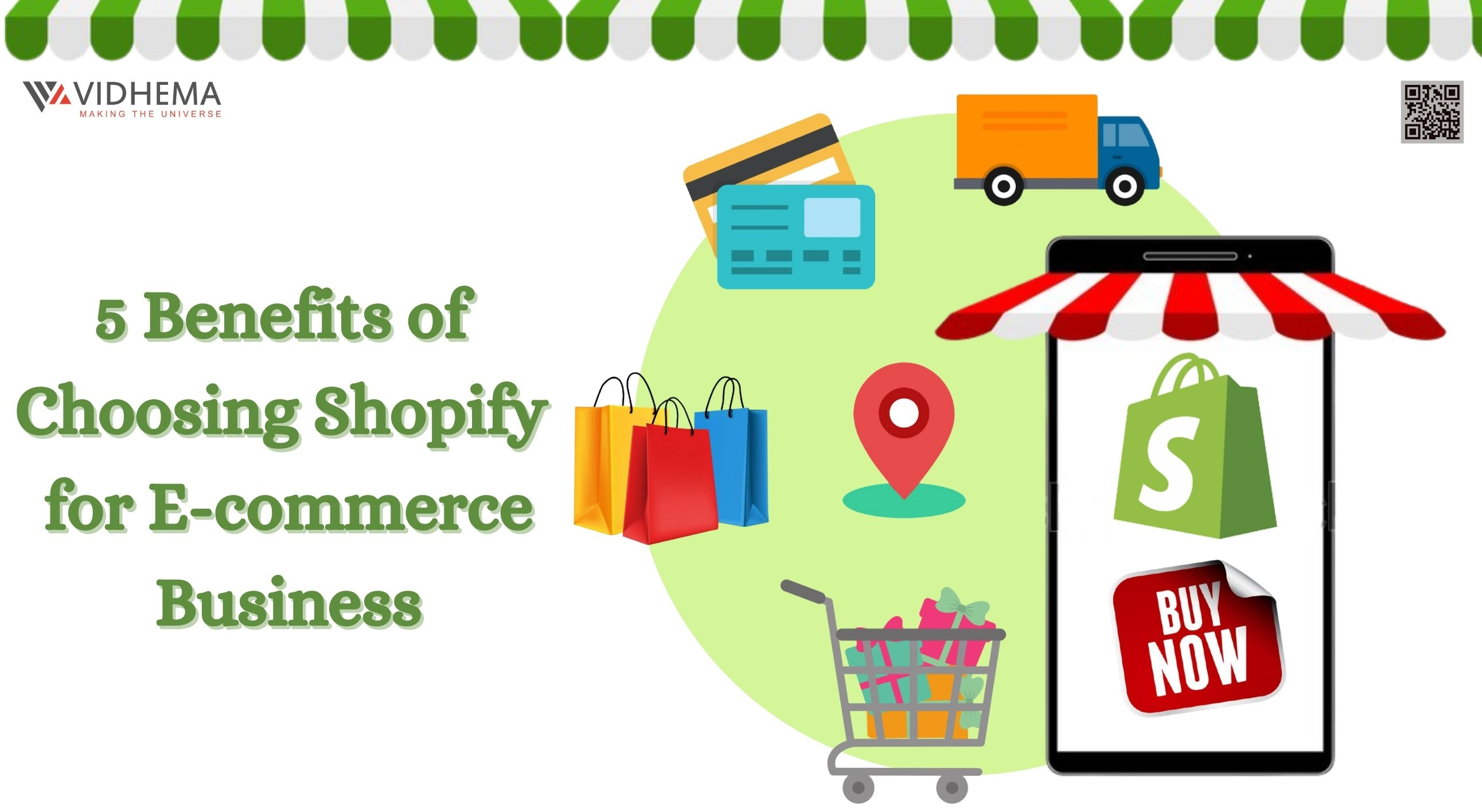 5 Benefits of Choosing Shopify for E-commerce Business