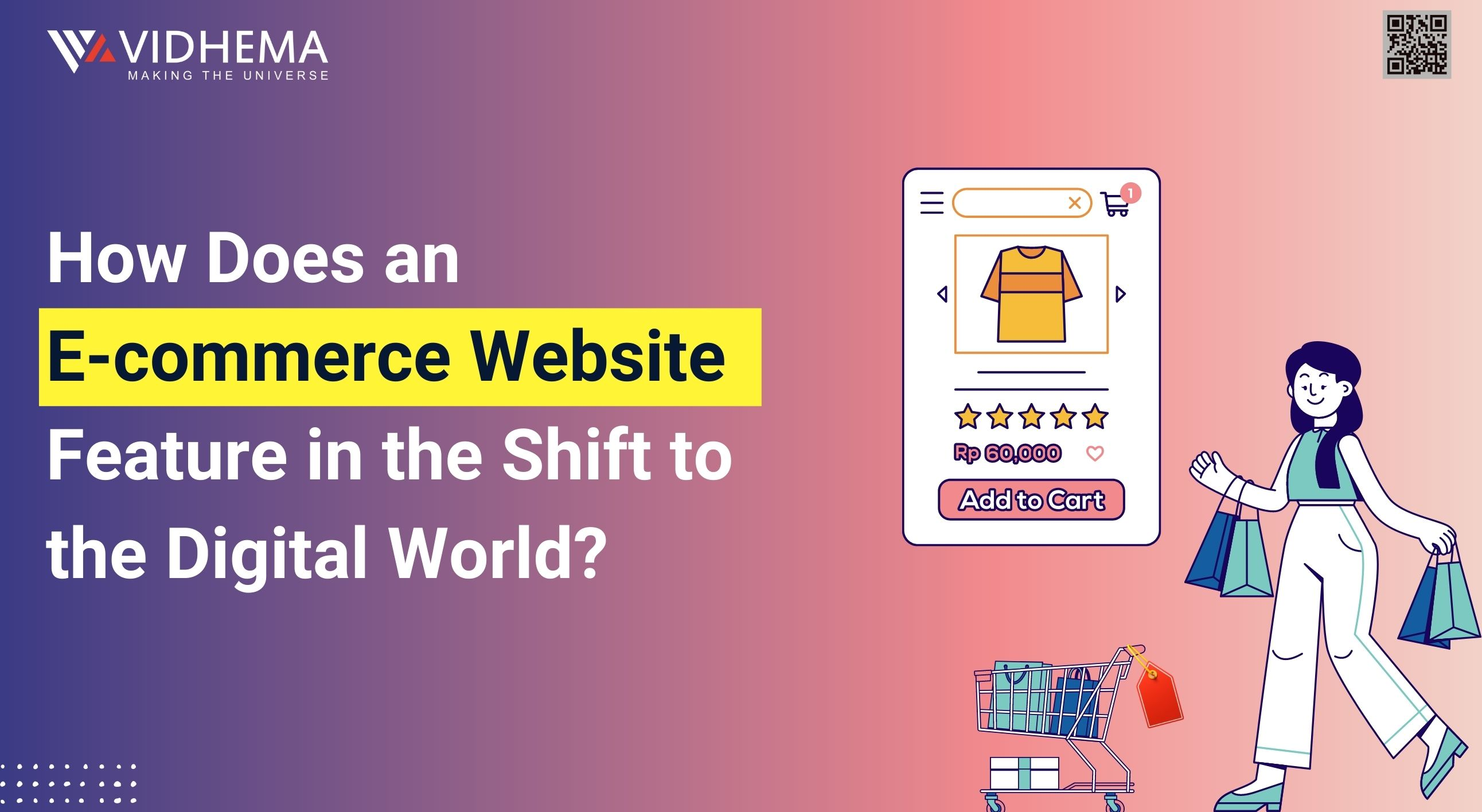 How does an eCommerce Website feature in the Shift to the Digital World?